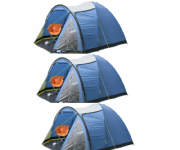 Kampa Brighton 5 Man Tent (Pack of 3) (Grey)